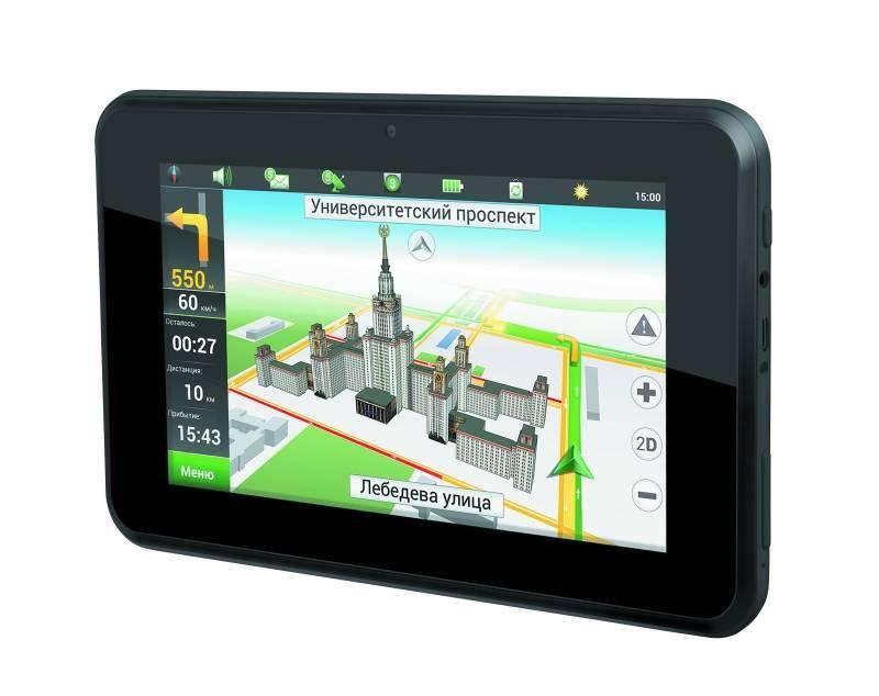 """GPS-навигатор Prology iMAP-7700 7"""" черный - фото 2"""