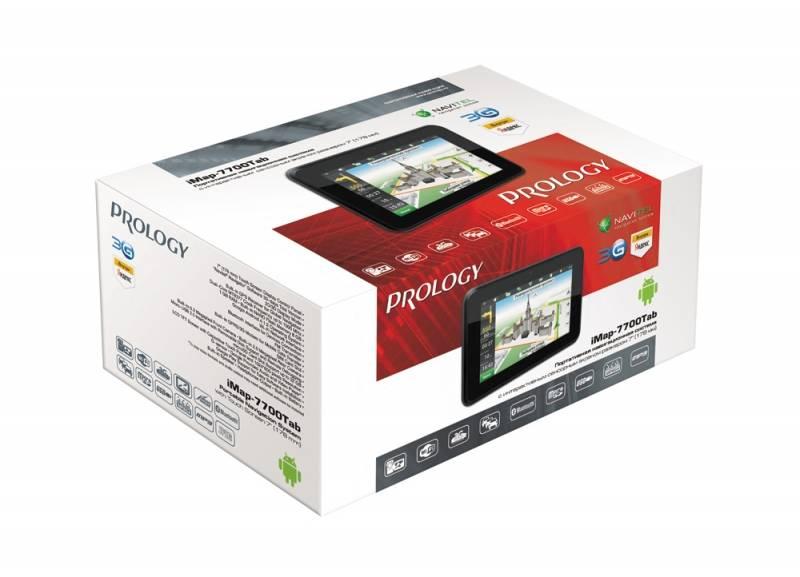 """GPS-навигатор Prology iMAP-7700 7"""" черный - фото 7"""
