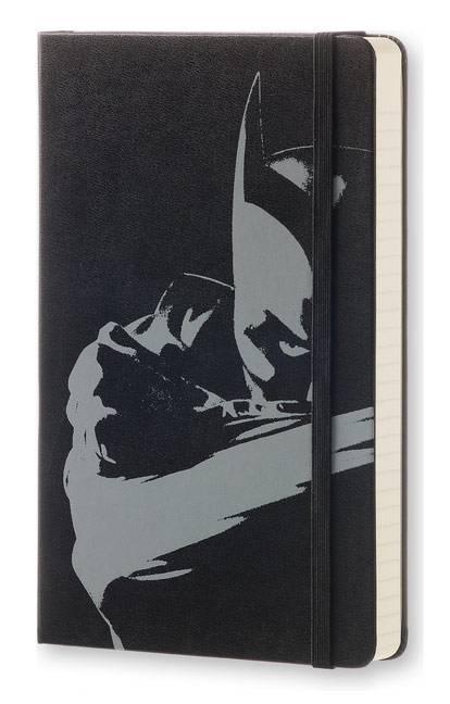 Ежедневник Moleskine BATMAN универсальный 400стр. черный - фото 2