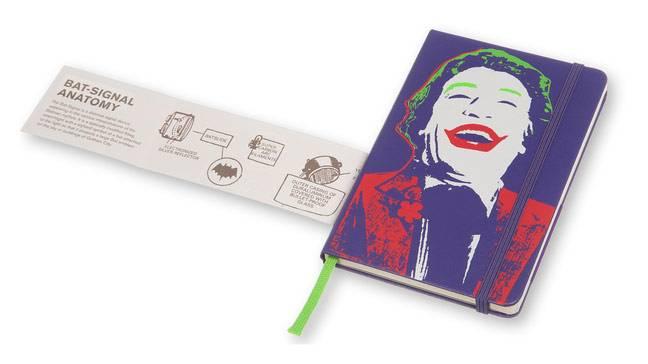 Еженедельник Moleskine BATMAN WKNT карманный 144стр. фиолетовый - фото 5