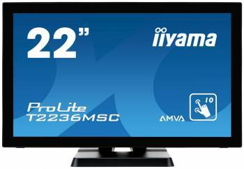 Монитор 21.5 Iiyama T2236MSC-B2 черный