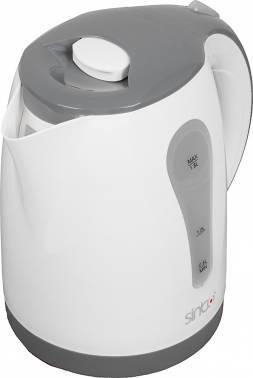 Чайник электрический Sinbo SK 7357 слоновая кость, объём 1.8л, мощность 2200Вт, материал корпуса: пластик
