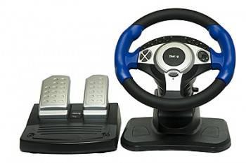 Руль Dialog GW-201 Dialog STREET RACER II USB