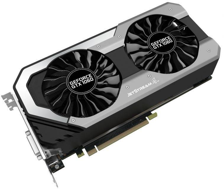 Видеокарта Palit GeForce GTX 1060 Super JetStream 6144 МБ (NE51060S15J9-1060J) - фото 1