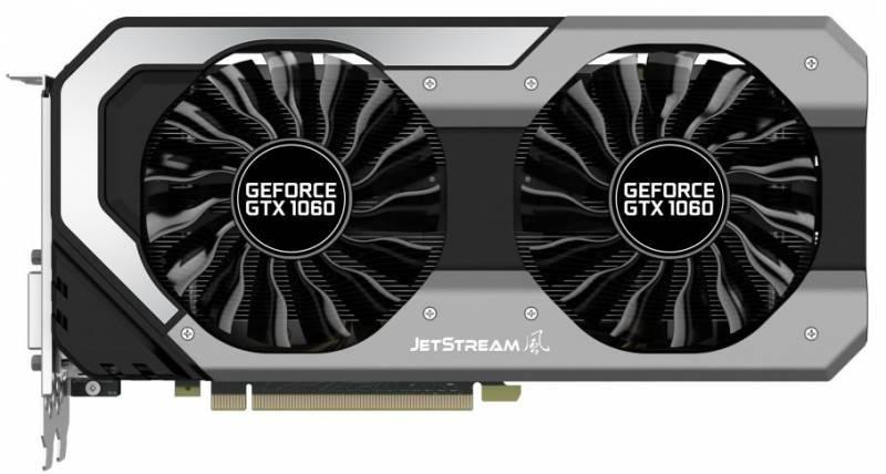 Видеокарта Palit GeForce GTX 1060 Super JetStream 6144 МБ (NE51060S15J9-1060J) - фото 2