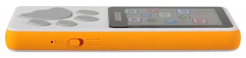 Плеер Digma S3 4ГБ белый/оранжевый (S3WO) - фото 4