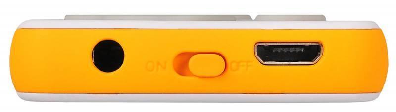 Плеер Digma S3 4ГБ белый/оранжевый (S3WO) - фото 5
