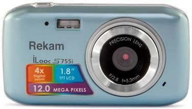 Фотоаппарат Rekam iLook S755i серый металлик - фото 1