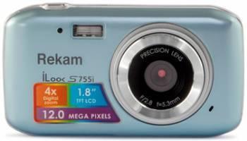 Фотоаппарат Rekam iLook S755i серый металлик