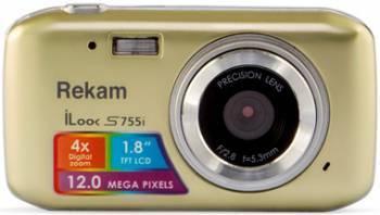 Фотоаппарат Rekam iLook S755i шампань