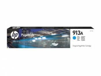 Картридж струйный HP 913A голубой (F6T77AE)