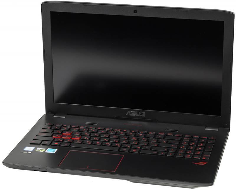 "Ноутбук 15.6"" Asus GL552VX-CN096T серый - фото 1"