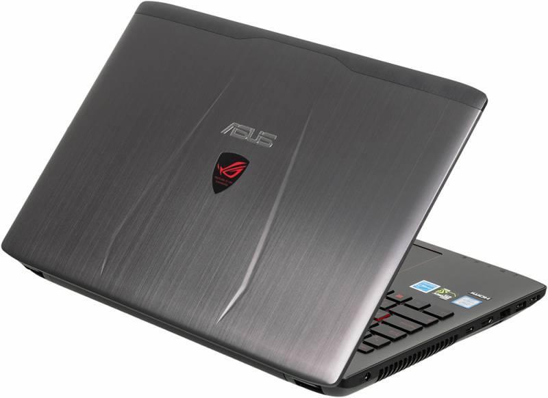 "Ноутбук 15.6"" Asus GL552VX-CN096T серый - фото 2"