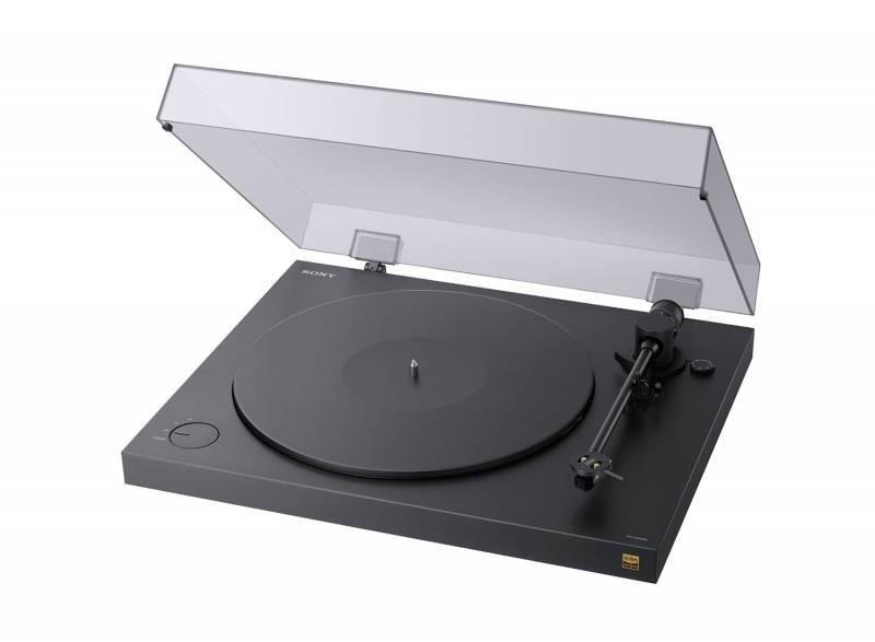 Виниловый проигрыватель Sony PS-HX500 черный - фото 1