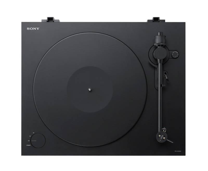Виниловый проигрыватель Sony PS-HX500 черный - фото 2