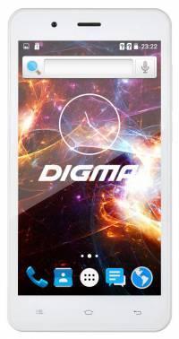 Смартфон Digma Vox S504 3G белый, встроенная память 8Gb, дисплей 5 854x480, Android 5.1, камера 5Mpix, поддержка 3G, 2Sim, WiFi, BT, GPS, microSD до 32Gb (VS5016PG)
