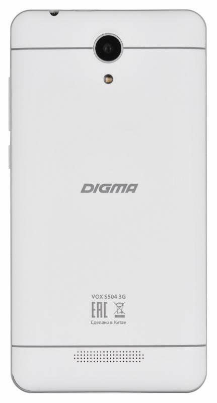Смартфон Digma S504 3G Vox 8ГБ белый (VS5016PG) - фото 3