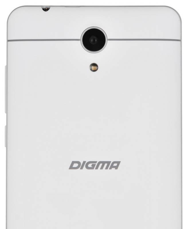 Смартфон Digma S504 3G Vox 8ГБ белый - фото 5