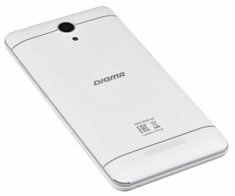 Смартфон Digma S504 3G Vox 8ГБ белый (VS5016PG) - фото 8