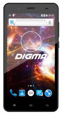 Смартфон Digma Vox S504 3G черный, встроенная память 8Gb, дисплей 5 854x480, Android 5.1, камера 5Mpix, поддержка 3G, 2Sim, WiFi, BT, GPS, microSD до 32Gb (VS5016PG)