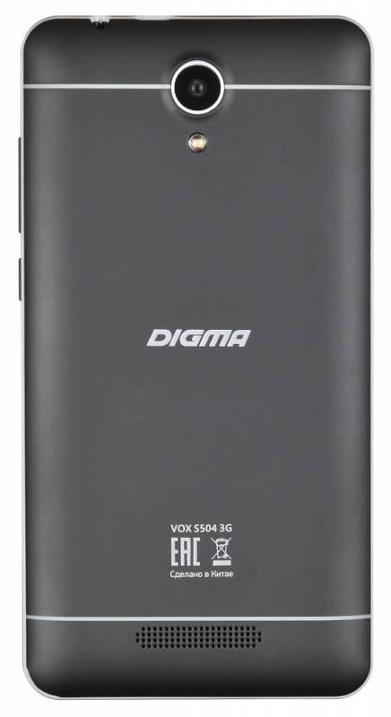 Смартфон Digma S504 3G Vox 8ГБ черный - фото 3