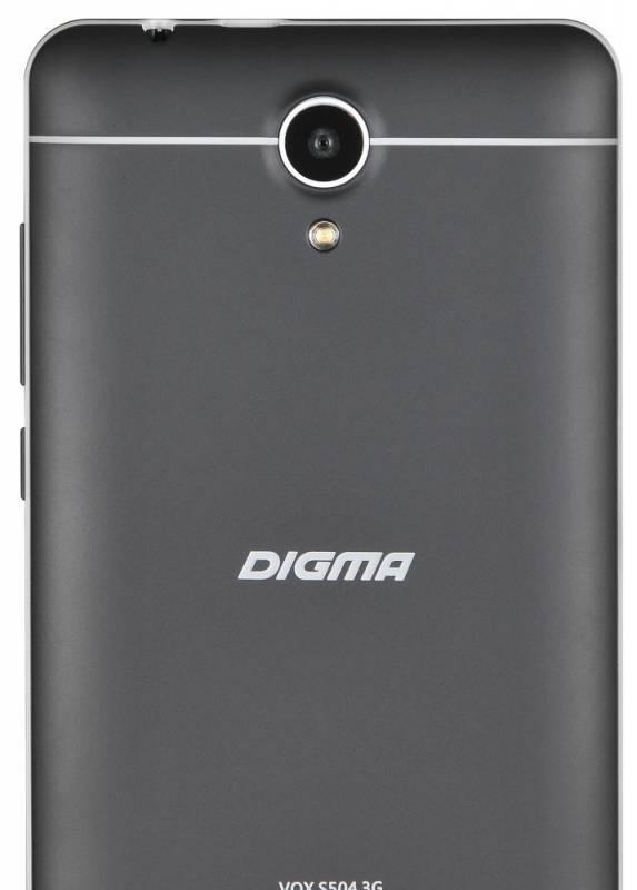 Смартфон Digma S504 3G Vox 8ГБ черный - фото 5
