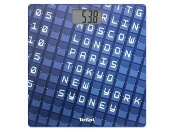 Весы напольные электронные Tefal PP2100V0 синий (2100095168)