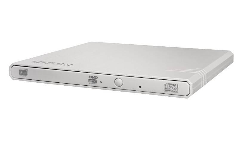 Оптический привод Lite-On eBAU108 белый USB slim - фото 2