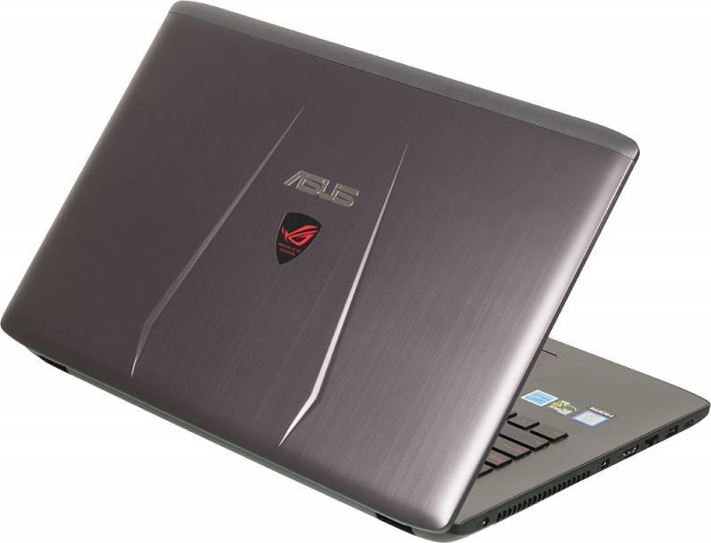 """Ноутбук 17.3"""" Asus GL752VW-T4356T серый - фото 2"""