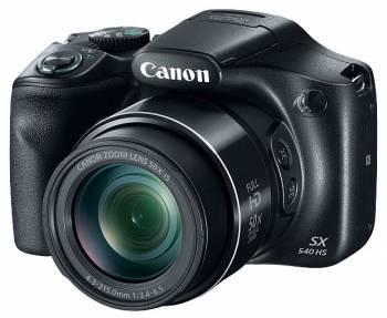 Фотоаппарат Canon PowerShot SX540 HS черный (1067C002)