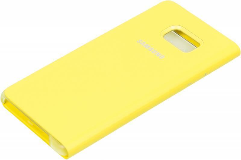 Чехол (флип-кейс) Samsung S View Standing Cover желтый - фото 2