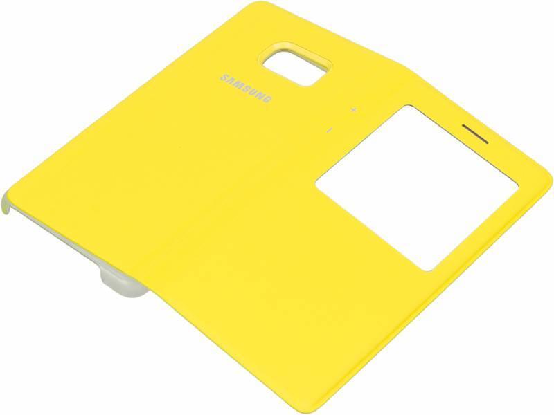 Чехол (флип-кейс) Samsung S View Standing Cover желтый - фото 3