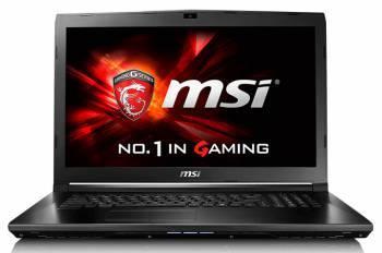 Ноутбук 17.3 MSI GL72 6QD-224 черный