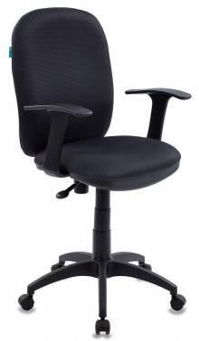 Кресло Бюрократ CH-555 / TW-12 серый