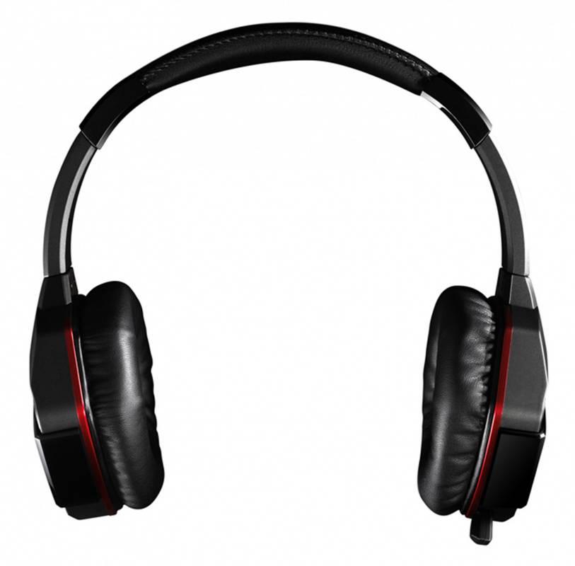 Наушники с микрофоном A4 Bloody G500+V5+B-072 черный/красный (V5G5PB72) - фото 4