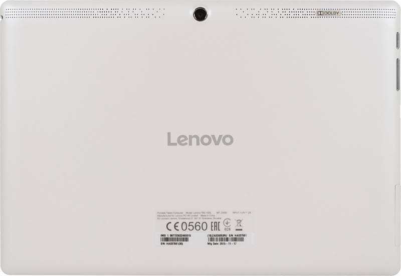 "Планшет 10.1"" Lenovo TB2-X30F 16ГБ белый - фото 4"