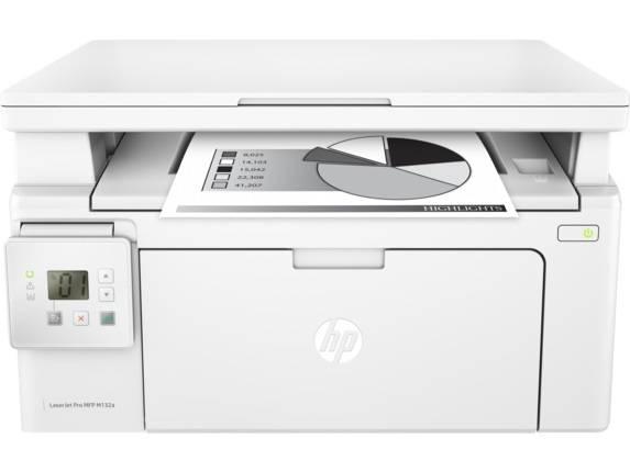 МФУ HP LaserJet Pro MFP M132a RU белый (G3Q61A) - фото 2