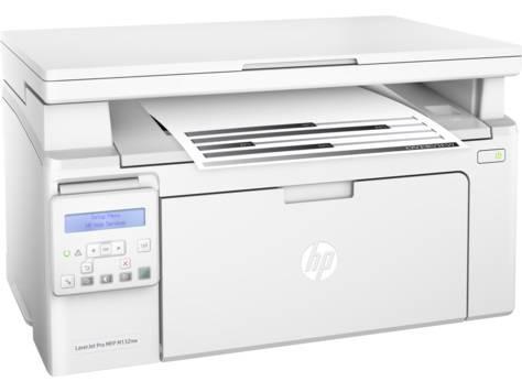 МФУ HP LaserJet Pro MFP M132nw RU белый - фото 1