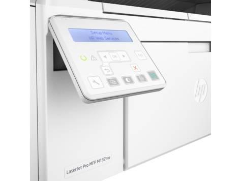 МФУ HP LaserJet Pro MFP M132nw RU белый - фото 5