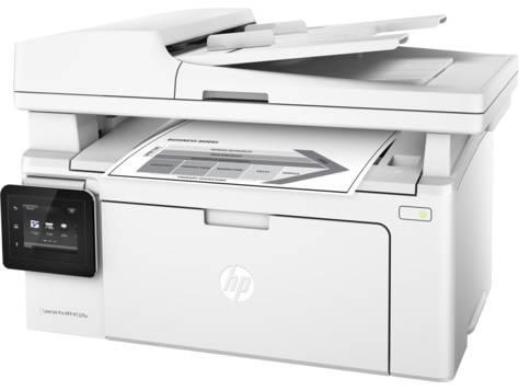 МФУ HP LaserJet Pro MFP M132fw RU белый - фото 1