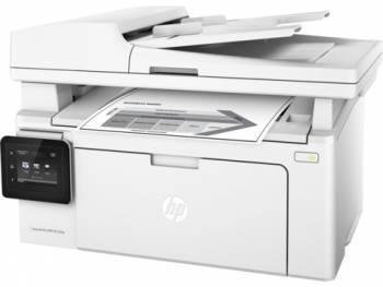 МФУ HP LaserJet Pro MFP M132fw RU белый