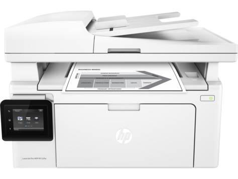 МФУ HP LaserJet Pro MFP M132fw RU белый - фото 2