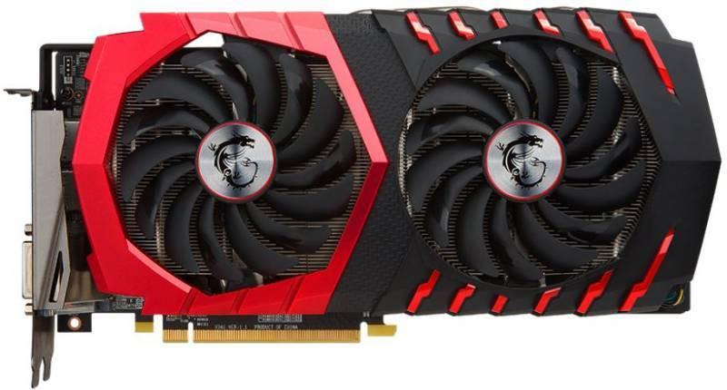 Видеокарта MSI RX 480 GAMING X 8G 8192 МБ - фото 1