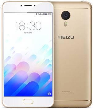 Смартфон Meizu L681H M3 Note 32Gb золотистый/белый моноблок 3G 4G 2Sim 5.5 1920x1080 Android 5.1 13Mpix 802.11abgnac BT GPS GSM900/1800 GSM1900 MP3 A-GPS microSD max128Gb (L681H 32GB GOLD)