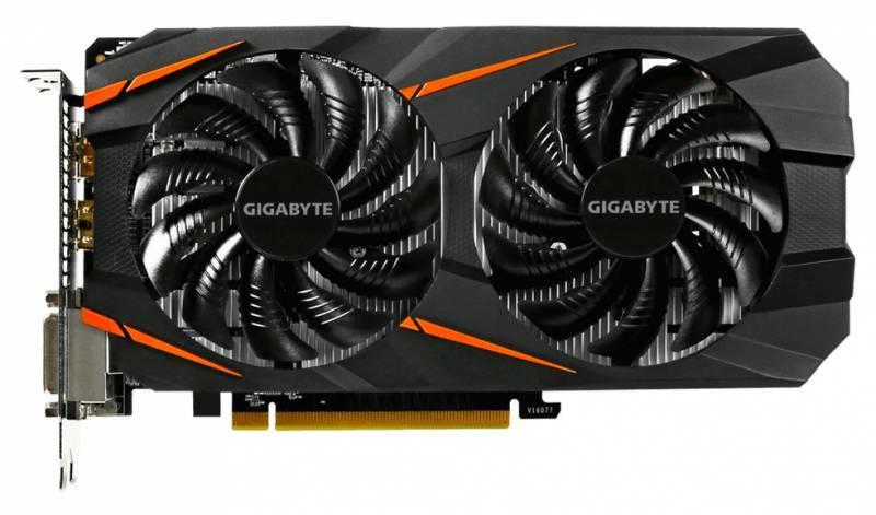 Видеокарта Gigabyte GeForce GTX 1060 WINDFORCE OC 3G 3072 МБ (GV-N1060WF2OC-3GD) - фото 2