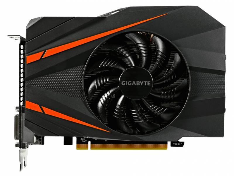 Видеокарта Gigabyte GeForce GTX 1060 Mini ITX OC 6G 6144 МБ (GV-N1060IXOC-6GD) - фото 2