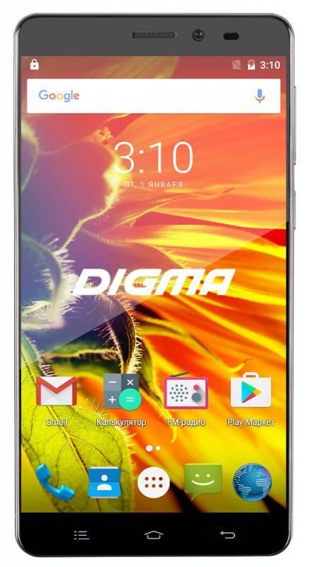 Смартфон Digma S505 3G Vox 8ГБ черный - фото 1