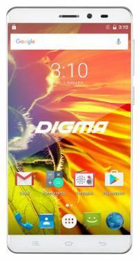 Смартфон Digma Vox S505 3G белый, встроенная память 8Gb, дисплей 5 1280x720, Android 6.0, камера 13Mpix, поддержка 3G, 2Sim, WiFi, BT, GPS, FM радио, microSDHC до 32Gb (VS5017MG)