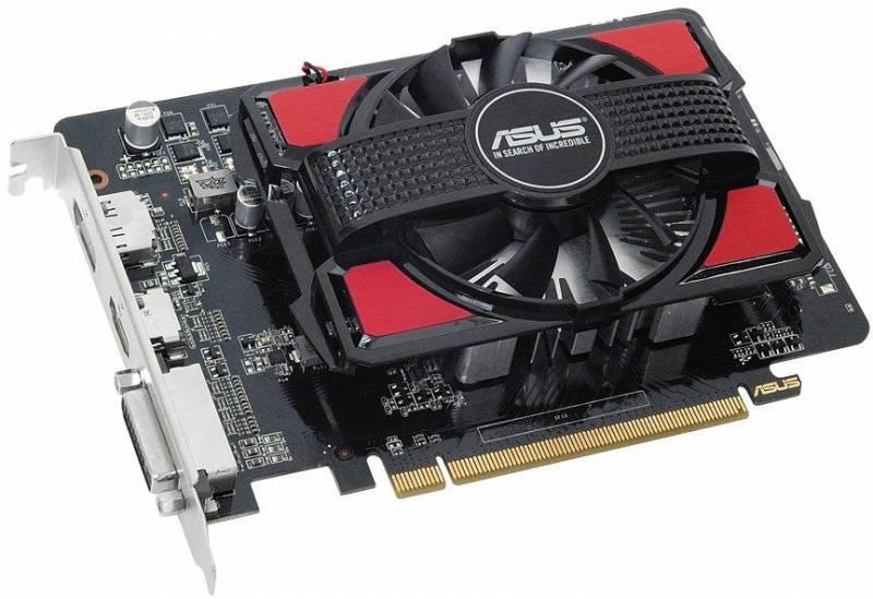 Видеокарта Asus Radeon R7 250 2048 МБ - фото 1