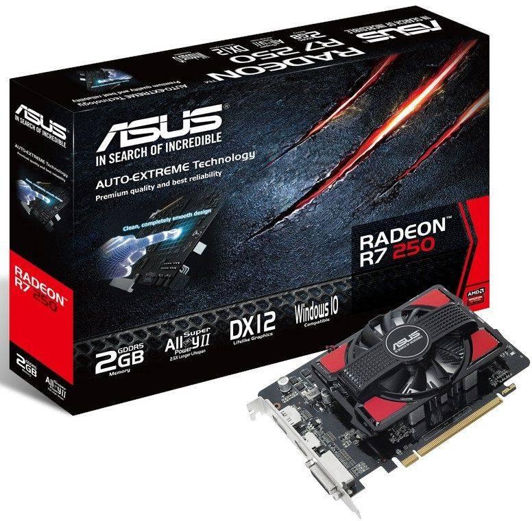Видеокарта Asus Radeon R7 250 2048 МБ - фото 4